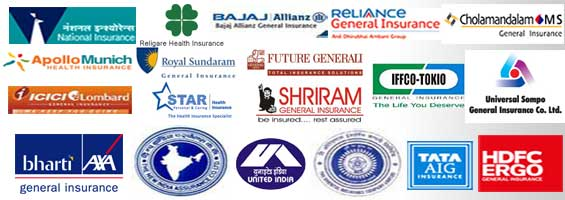 Various health insurance companies who provide insurance in India.